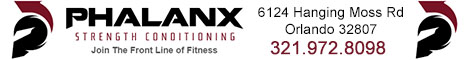 Phalanx Strength Conditioning