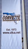 CFCA's banner at the NCM